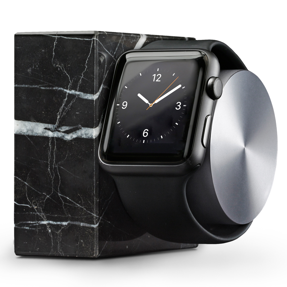 Native Union designs marble charging dock for the Apple Watch