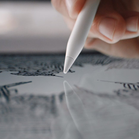 Apple design team abandoning sketchbooks for the Apple Pencil, says Jonathan Ive