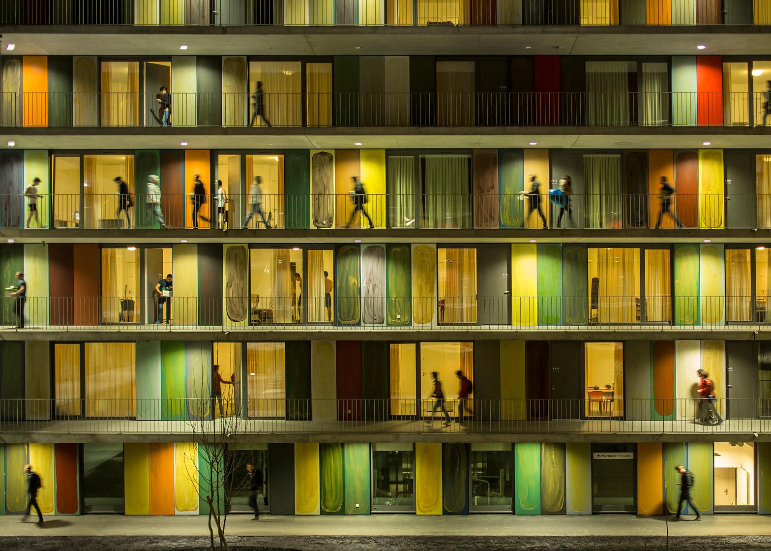 Overall winner: EPFL Quartier Nord, Switzerland, by Richter Dahl Rocha & Associés, photographed by Fernando Guerra