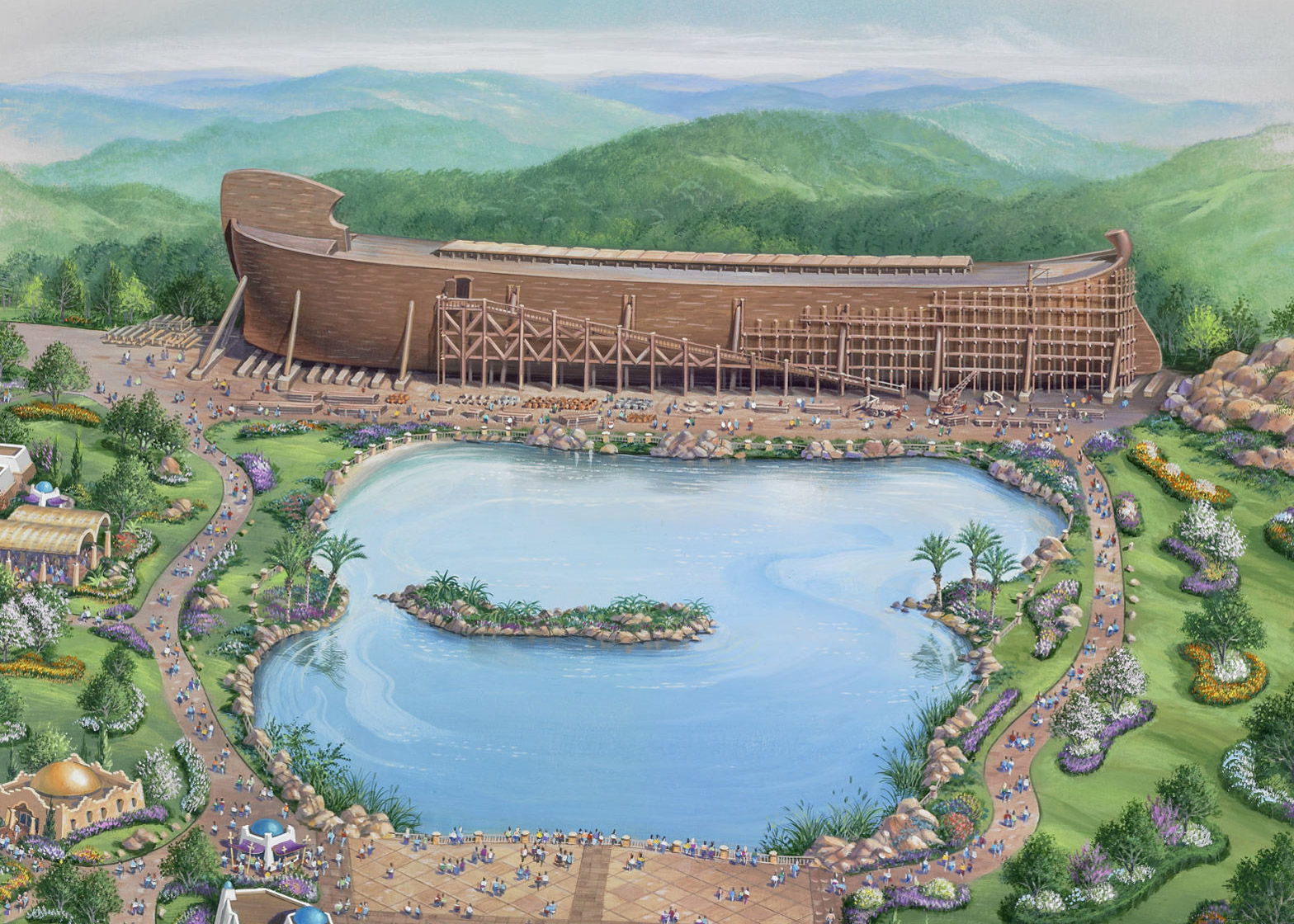 Ark Encounter by Troyer Group