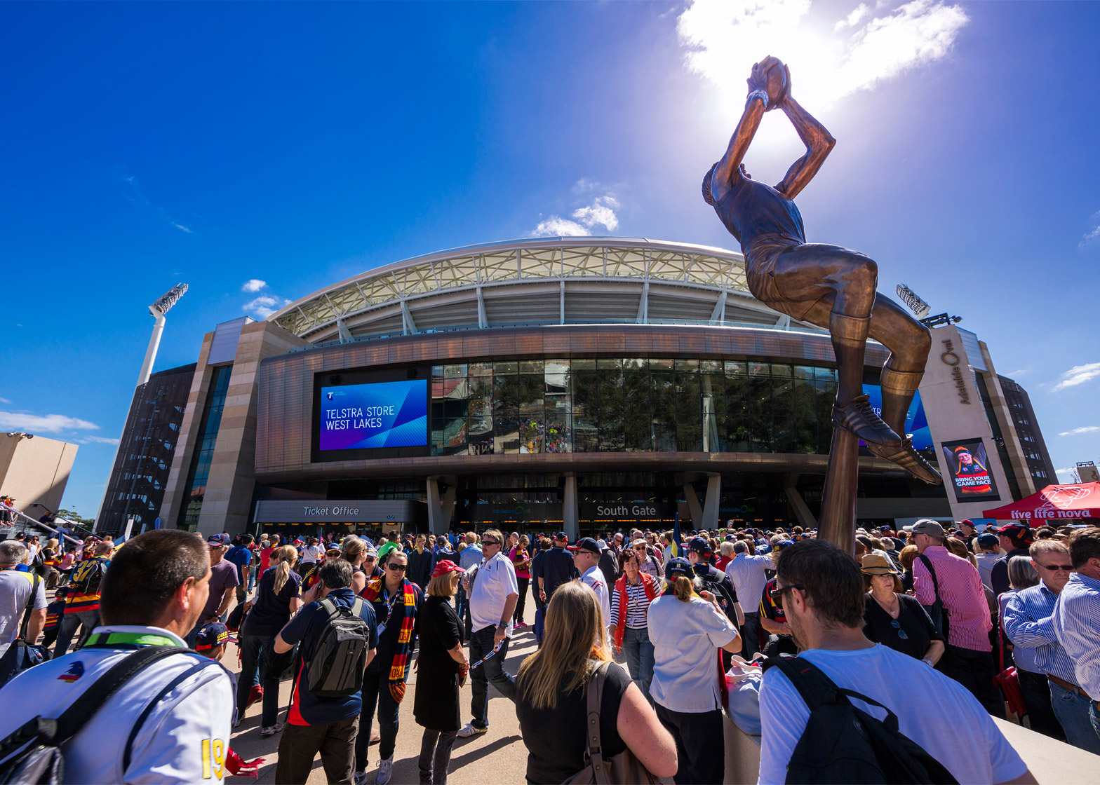 Adelaide Oval Redevelopment by Cox Architecture, Walter Brooke and Hames Sharley (SA)