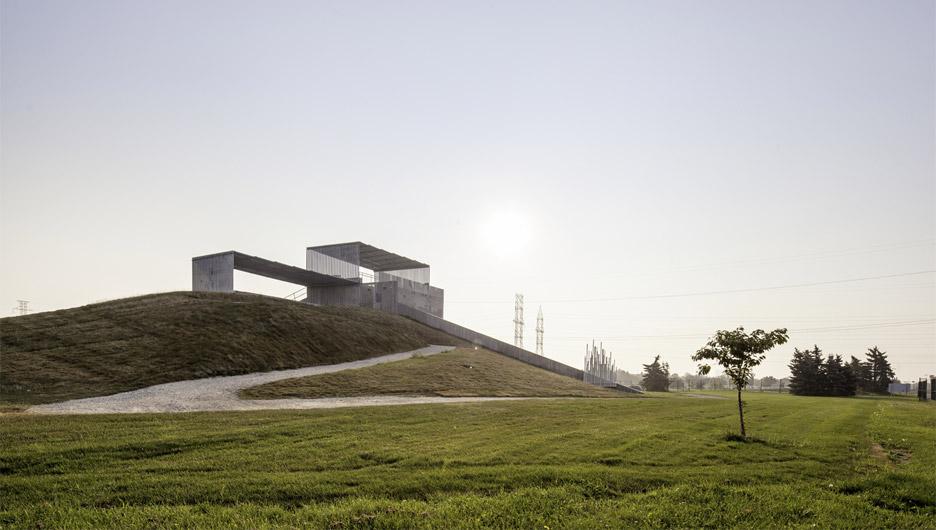 BMX Supercross Track Legacy Project by Kleinfeldt Mychajlowycz Architects for 2015 Toronto Pan Am Games
