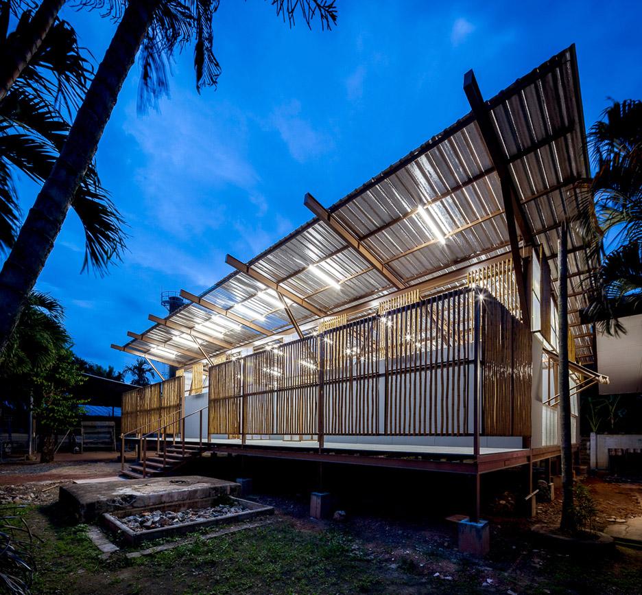 Thailand Architecture: Jun Sekino Redesigns Earthquake-damaged School In Thailand
