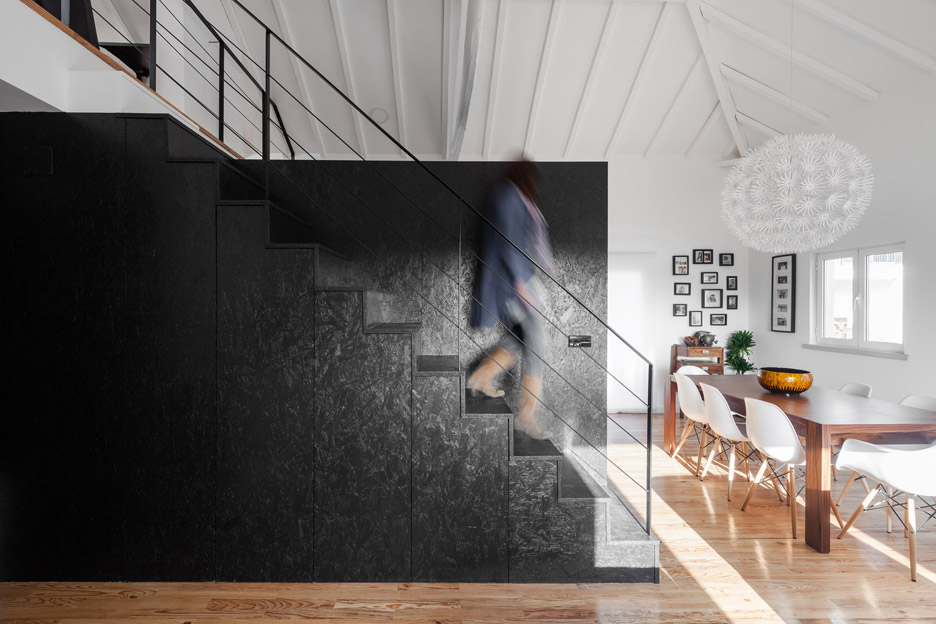 Hochwertig Inês Brandão Installs Black Box Of Rooms Inside Converted Barn Home