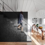 Inês Brandão installs black box of rooms inside converted barn home