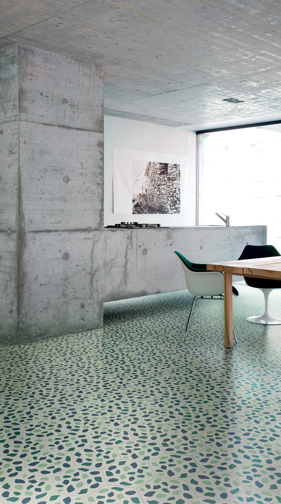 Tom Dixon's Cementiles tile collection for Bisazza