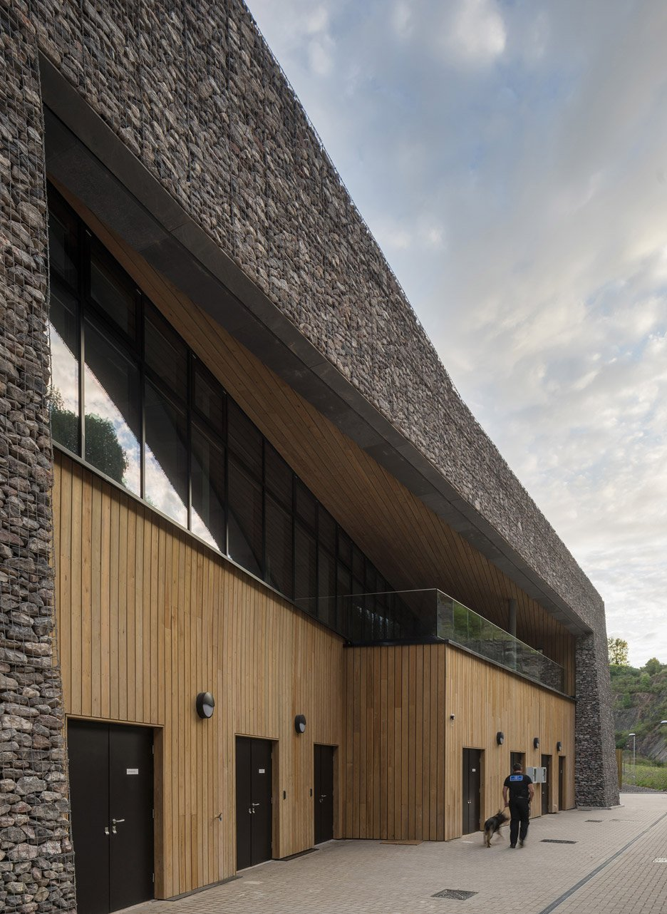 Blackrock Police Training Centre by Haverstock