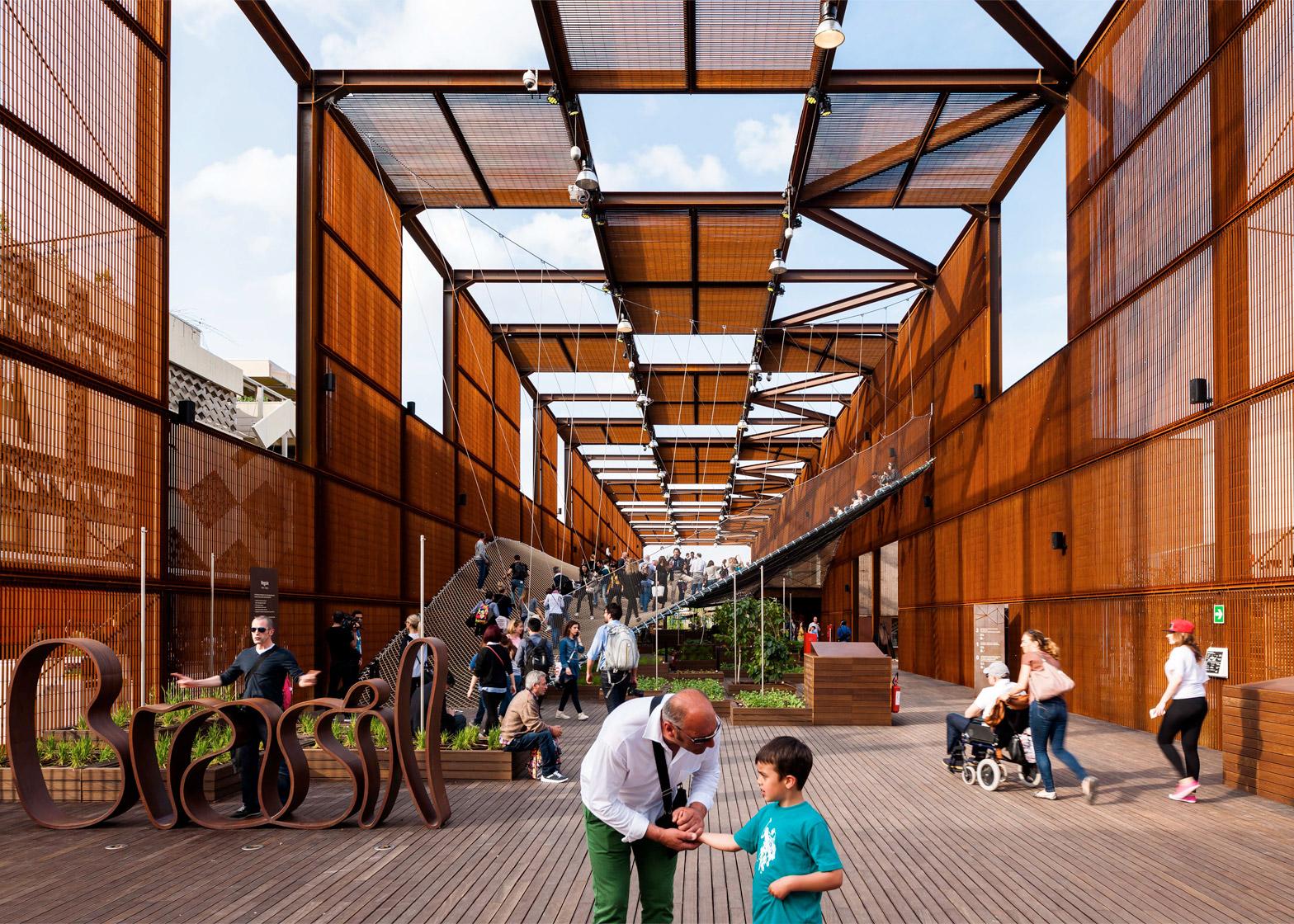Brazilian Pavilion at Expo Milan 2015, Milan, Italy by Studio Arthur Casas and Atelier Marko Brajovićs