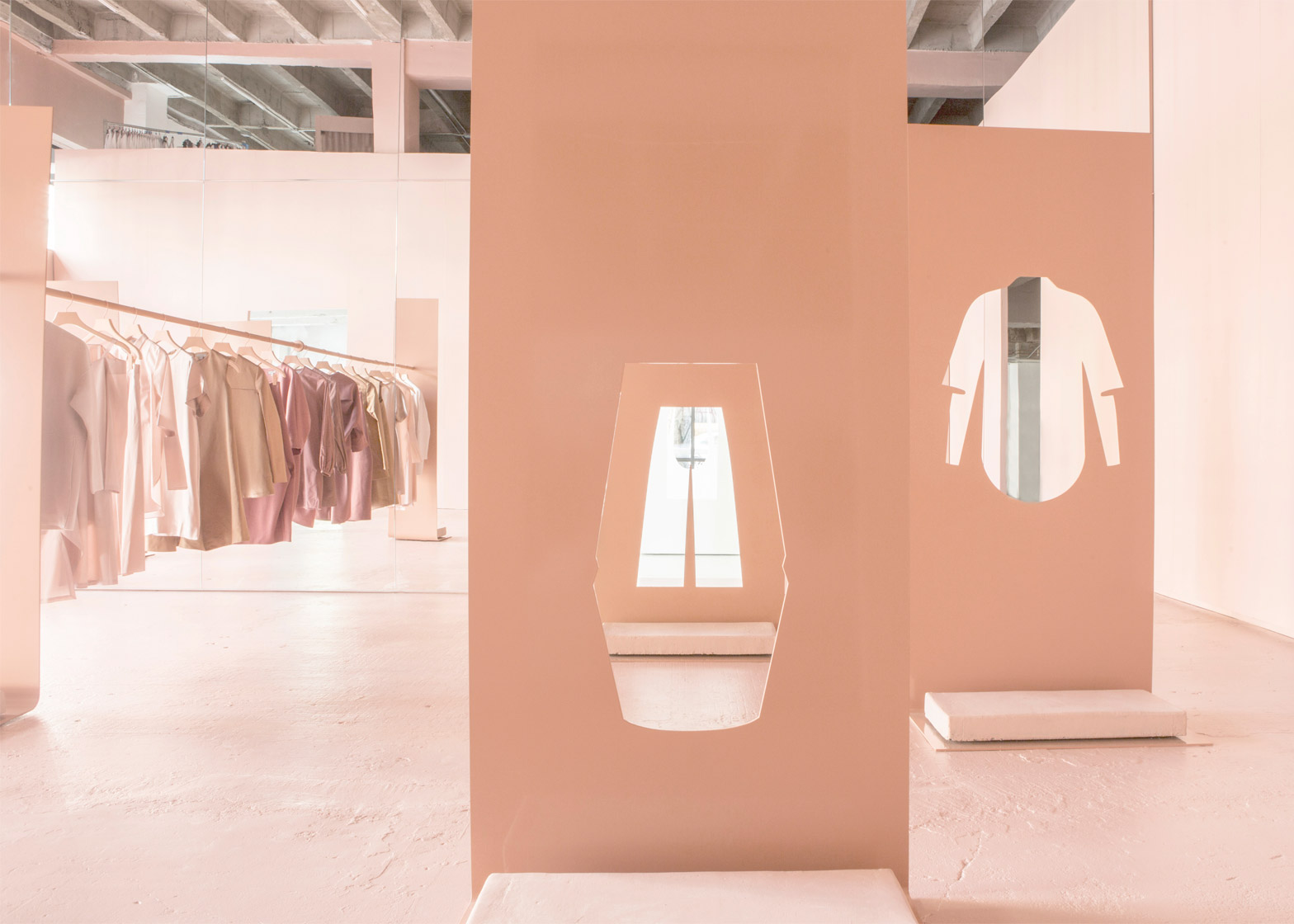 of cos la popup store by