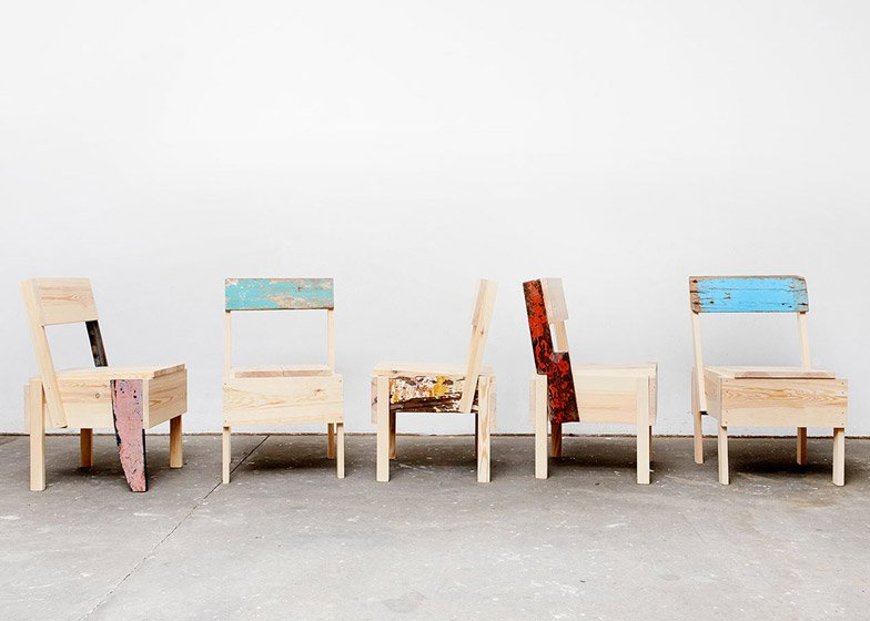 recreate furniture. after hosting a workshop for refugees cucula founder sebastian dschle contacted the designer who agreed to let organisation recreate and sell his furniture t