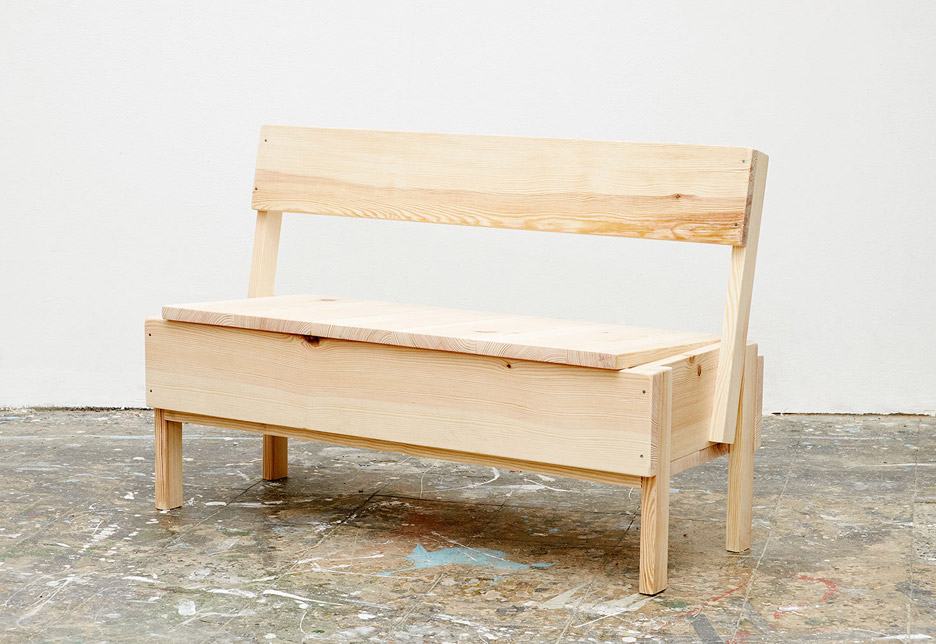 Autoprogettazione furniture by Enzo Mari for CUCULA refugee programme