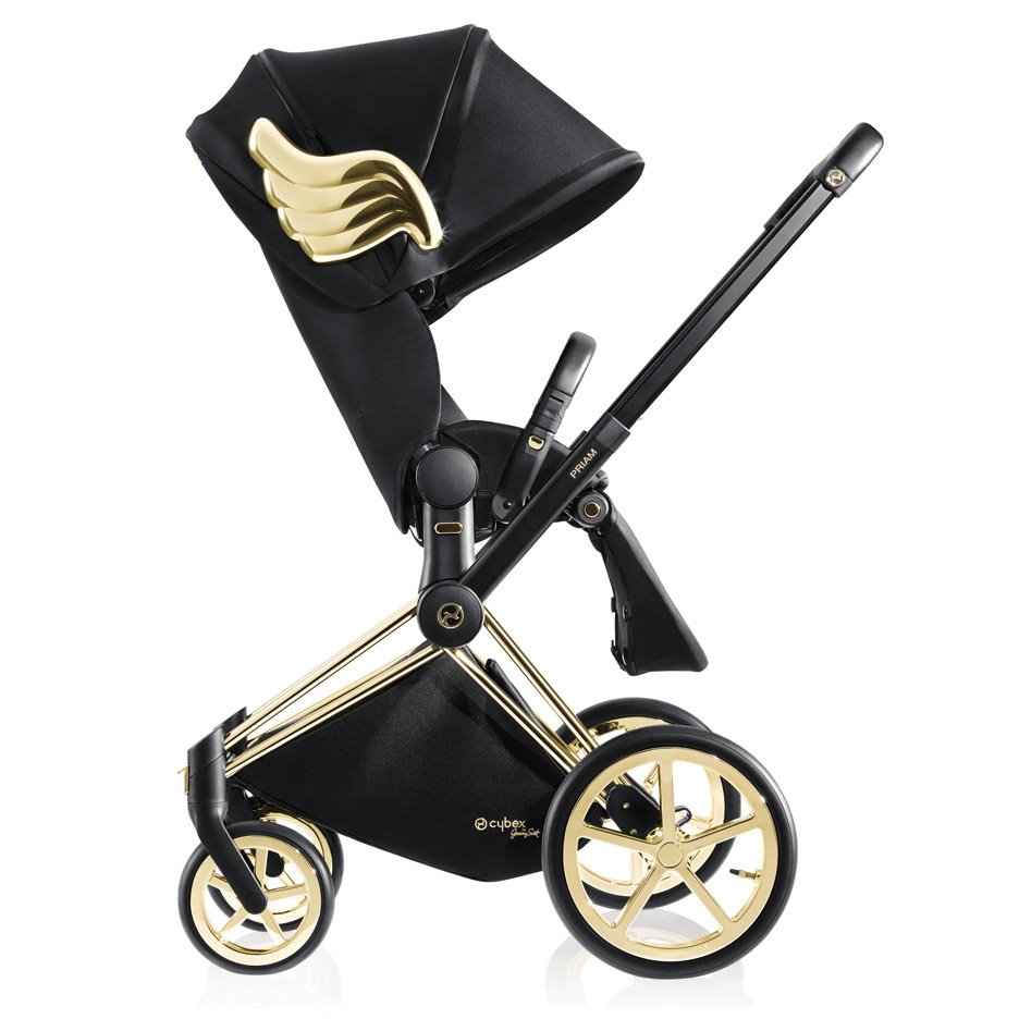 The capsule collection by Jeremy Scott for Cybex