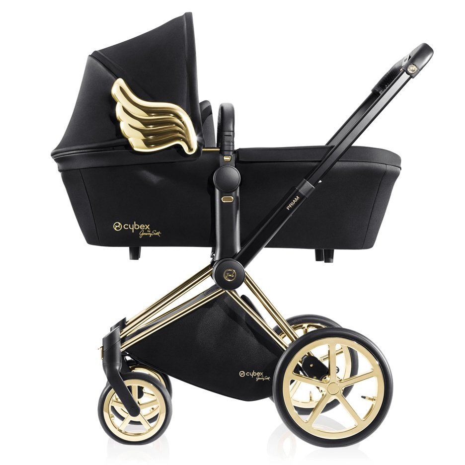 Jeremy Scott debuts winged Cybex prams at 10 Corso Como