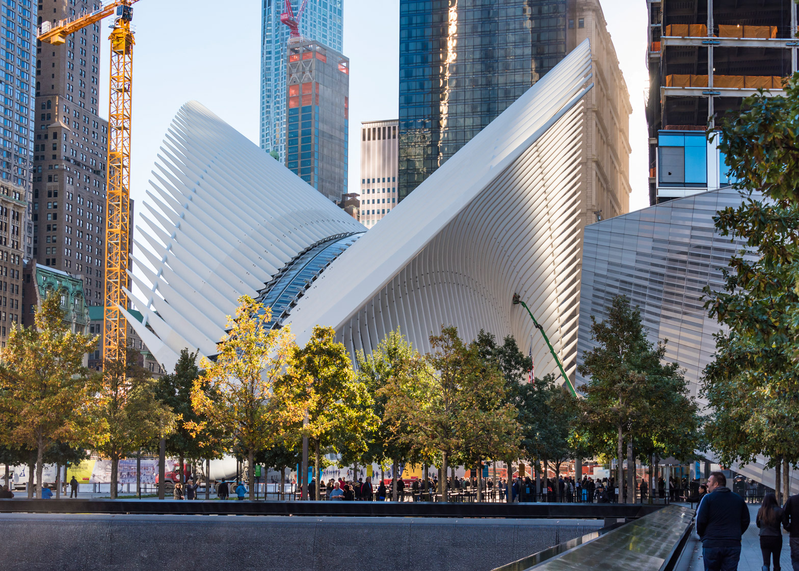 Santiago Calatrava's World Trade Center Transportation Hub