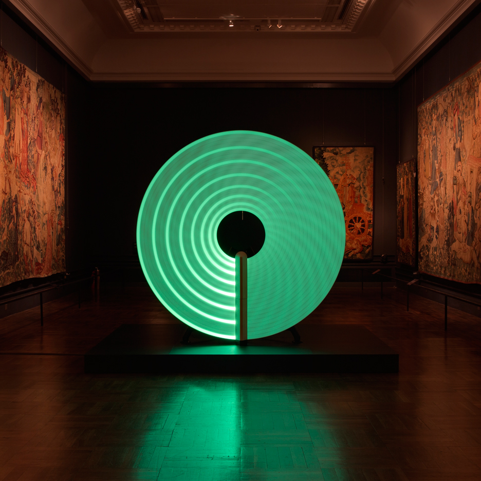 Candela lighting installation at the V&A in London