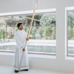 Site Specific Arquitectura converts Portuguese warehouse into monastery chapel