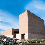 Estudio ALA completes terracotta chapel at a Mexican tequila factory