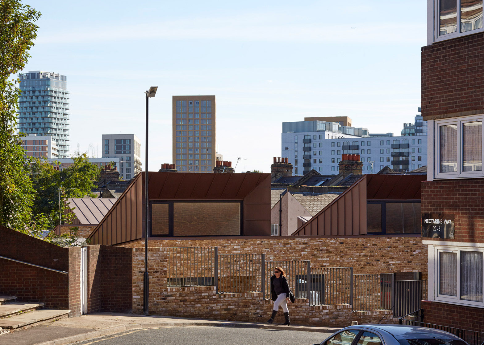 Coldbath Street housing by Bell Phillips Architects