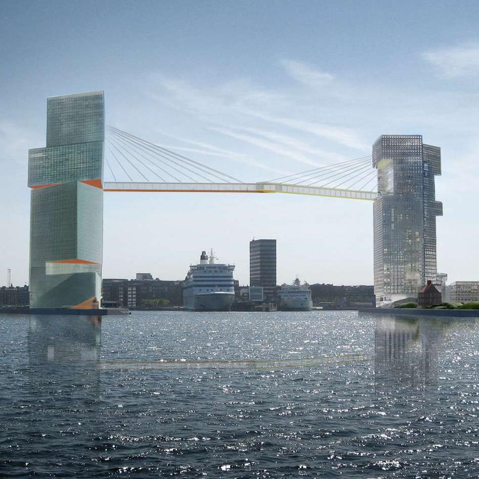 Copenhagen Gate by Steven Holl