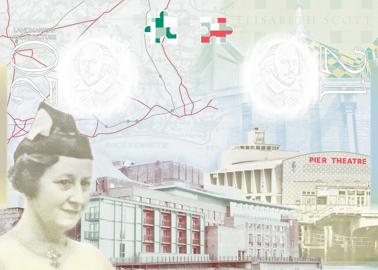 Updated British passport design