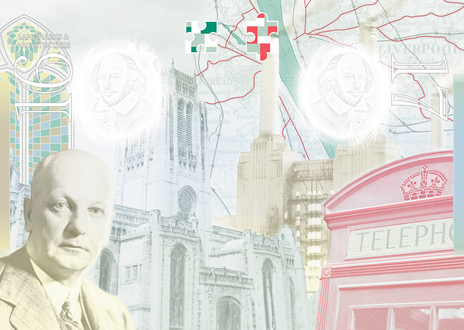 Updated British passport design
