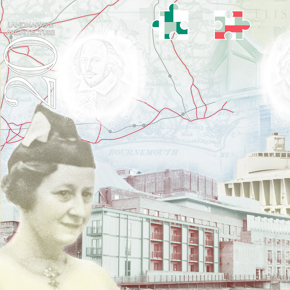 UK creatives feature in updated British passport design