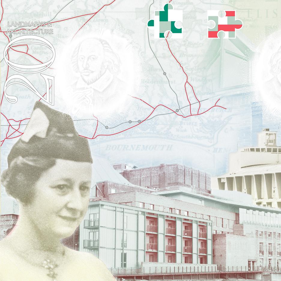 UK creatives feature in updated British passport design