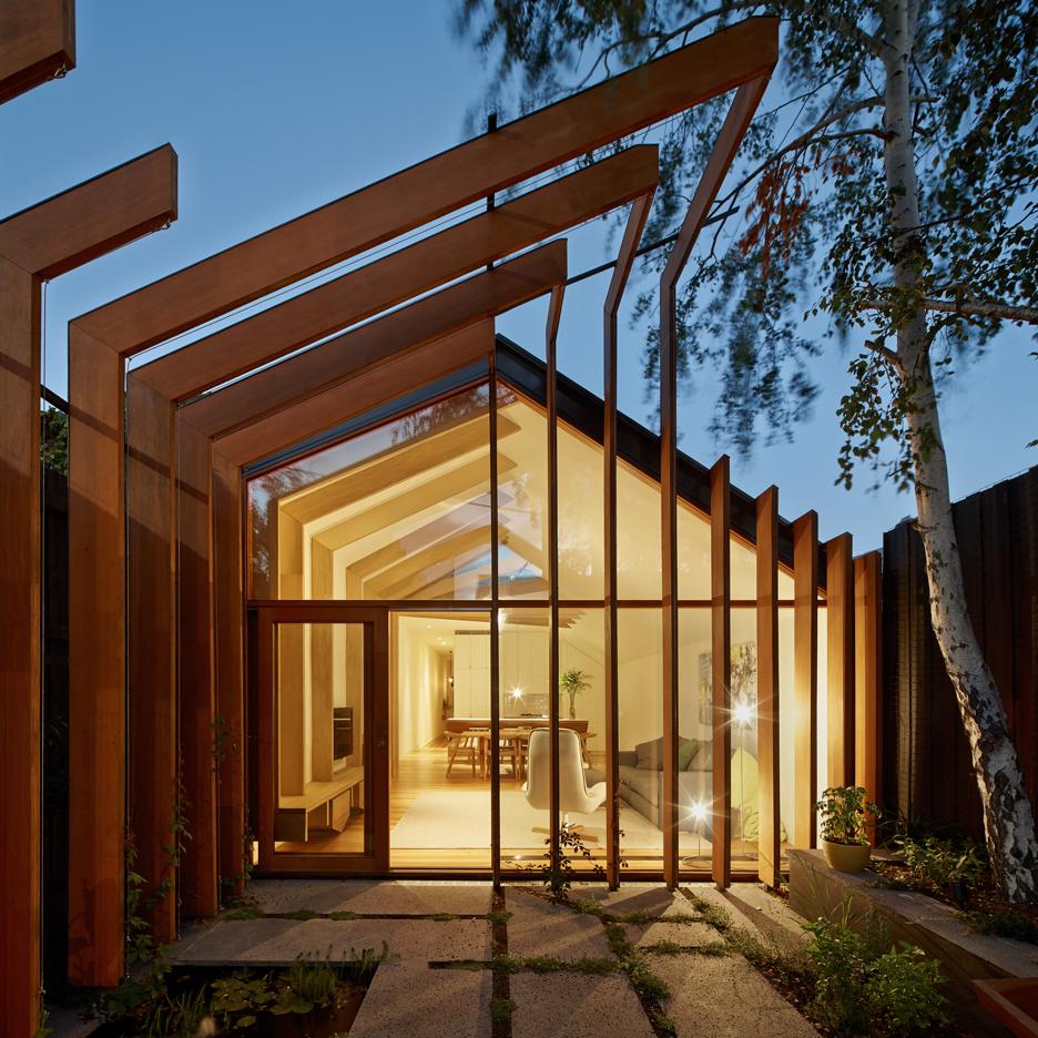 Cross Stitch House by FMD Architects