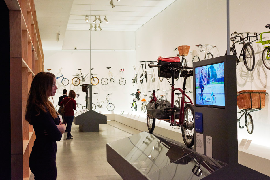 The Cycle Revolution exhibition at London's Design Museum