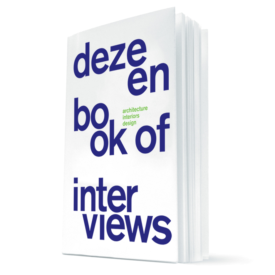 Buy Dezeen Book of Interviews for only £10 with our Christmas offer