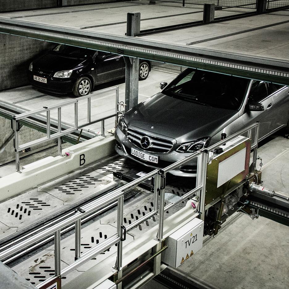 Dokk1 carpark by Schmidt Hammer Lassen