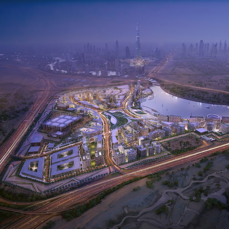 Dubai Design District masterplan