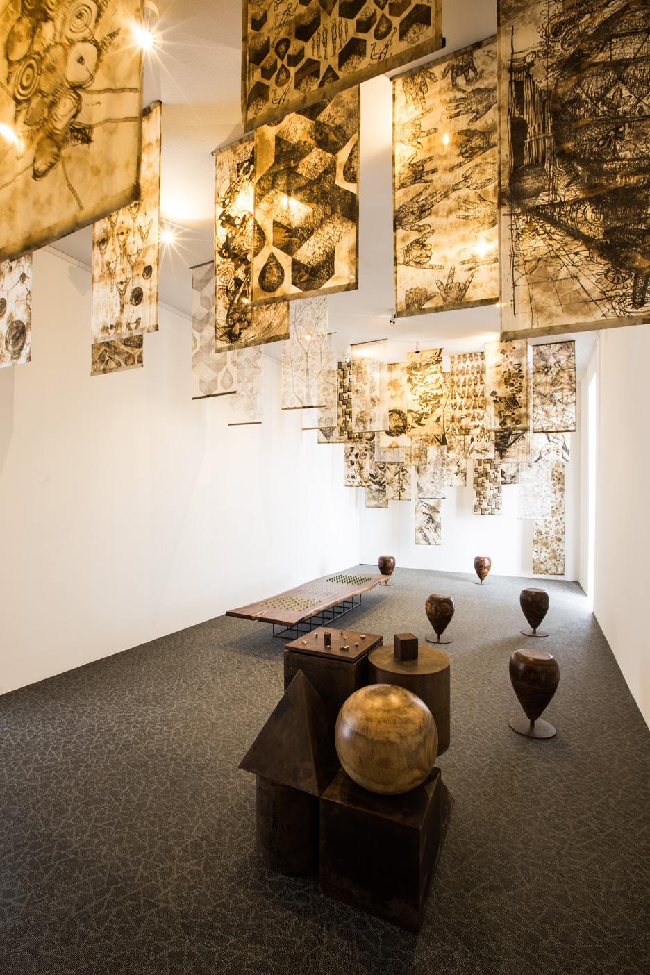Pakistan Abwab pavilion at Dubai Design Week 2015
