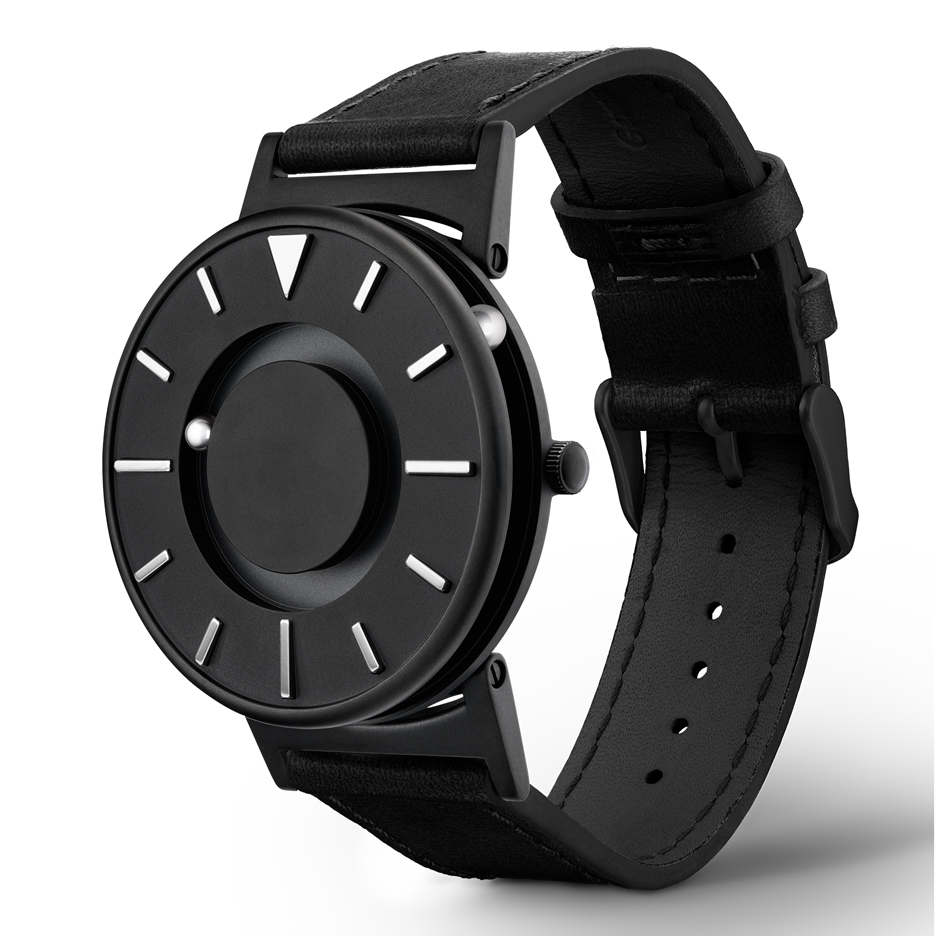 Bradley + Dezeen tactile timepiece is Dezeen's second watch collaboration