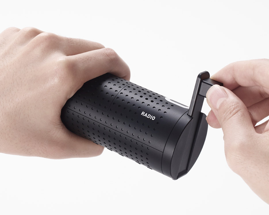 Emergency aid kit by Nendo