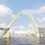 London's first pedestrian and cycle bridge proposed for Canary Wharf