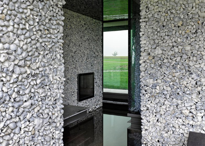 Flint House by Skene Catling de la Peña features a television grotto
