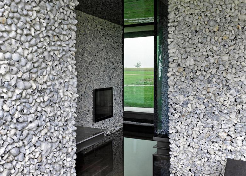 Flint House by Skene Catling de la Peña features a television grotto