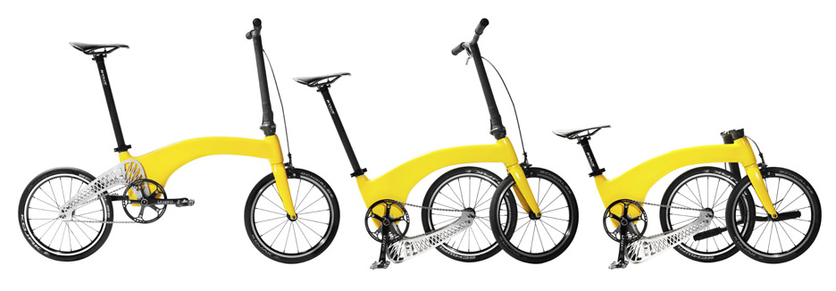 Folding bike by Hummingbird