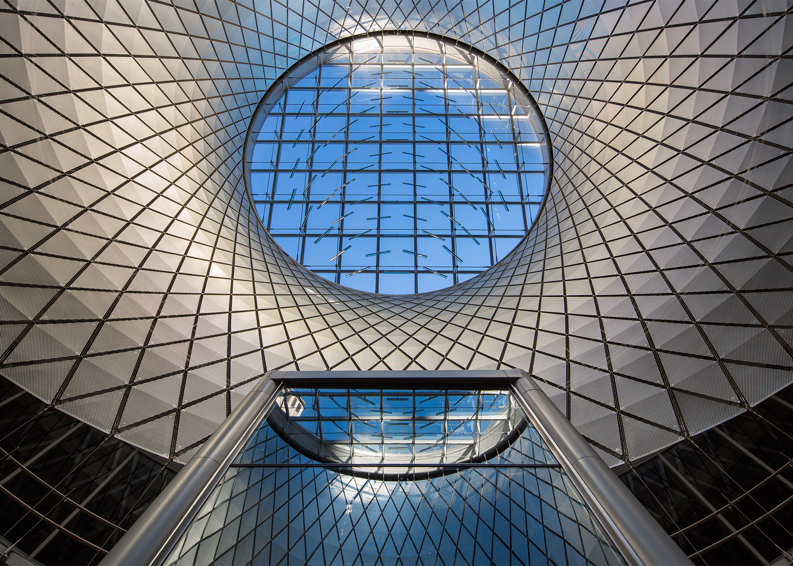 Fulton Center, New York City, USA, by Grimshaw