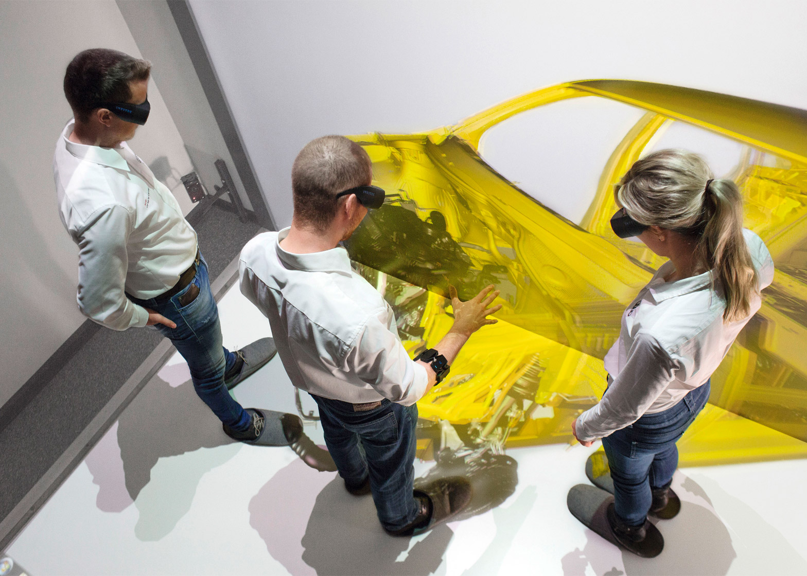 Gesture control by Audi