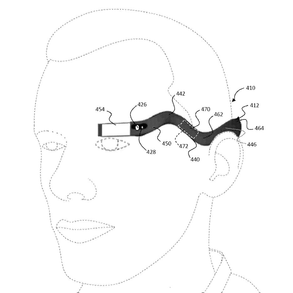 Google granted patent for bendy Google Glass-style device