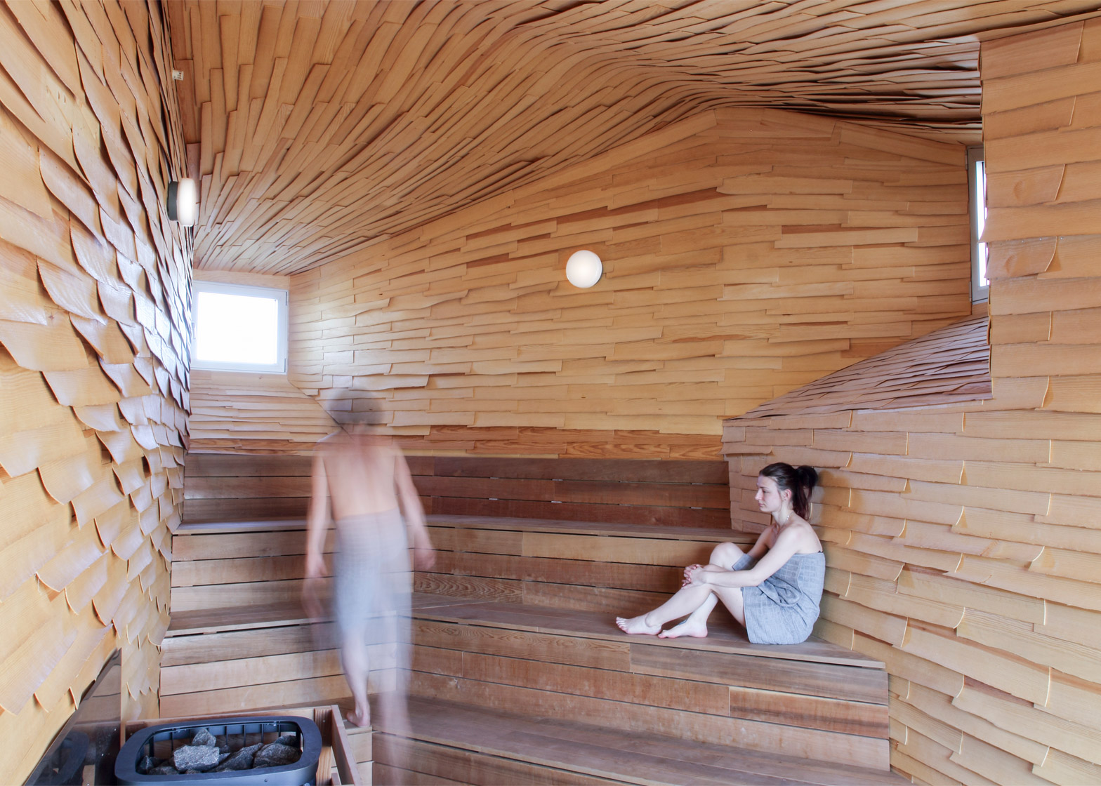 Gothenburg sauna by Raumlabor