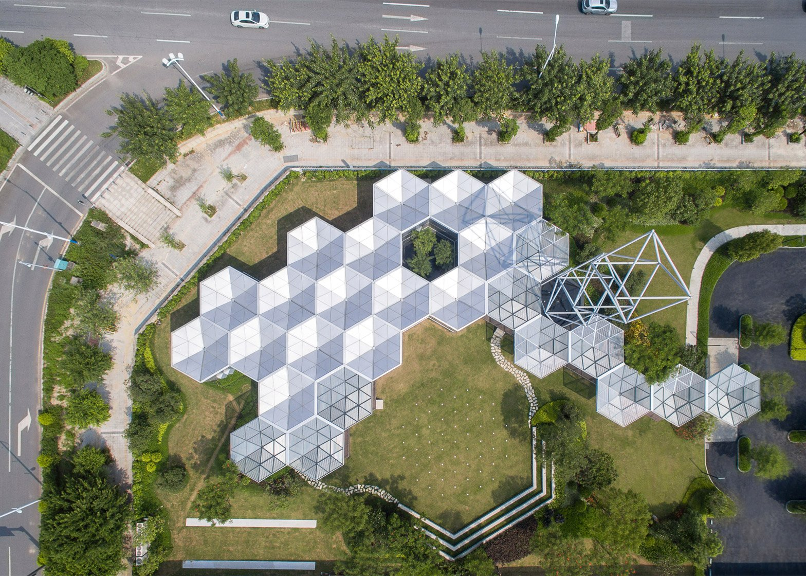 15 Of 15; HEX SYS Modular Building System By OPEN Architecture