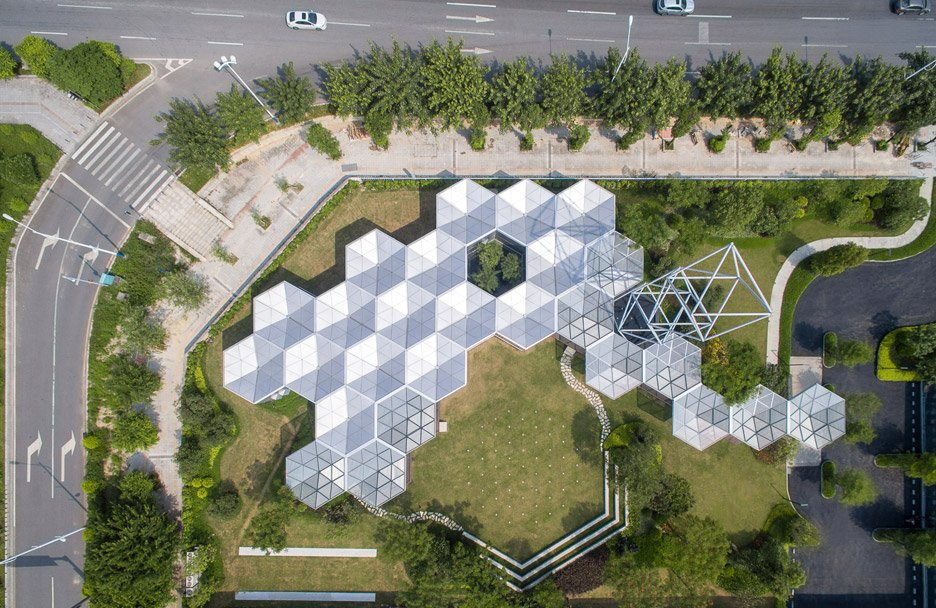 HEX-SYS modular building system by OPEN Architecture