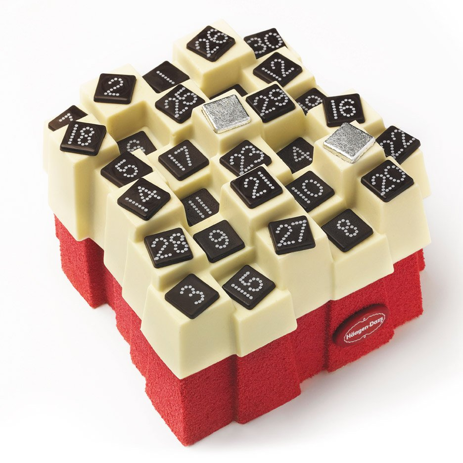 Christmas Advent Calendar cake by Häagen-Dazs