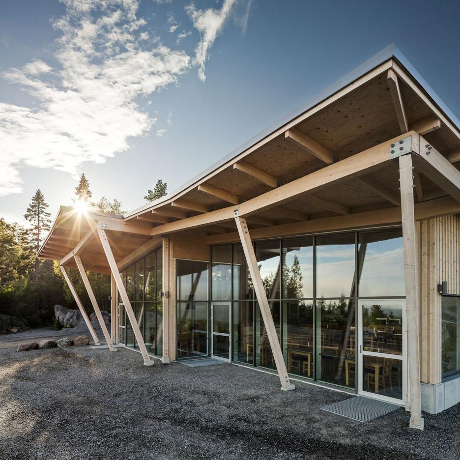 Restaurant exterior architecture - Hemsoe Restaurant By Sweco