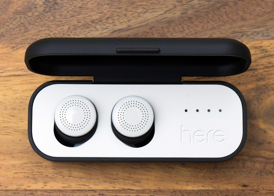 Wireless earbuds by Doppler Labs
