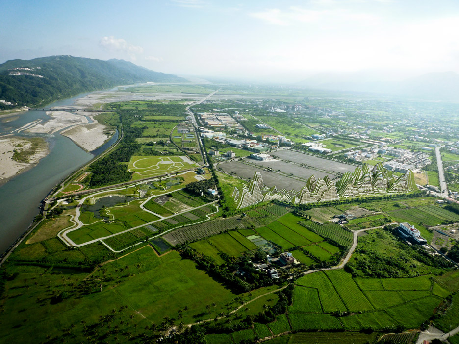 Hualien Residences holiday resort in Taiwan by BIG