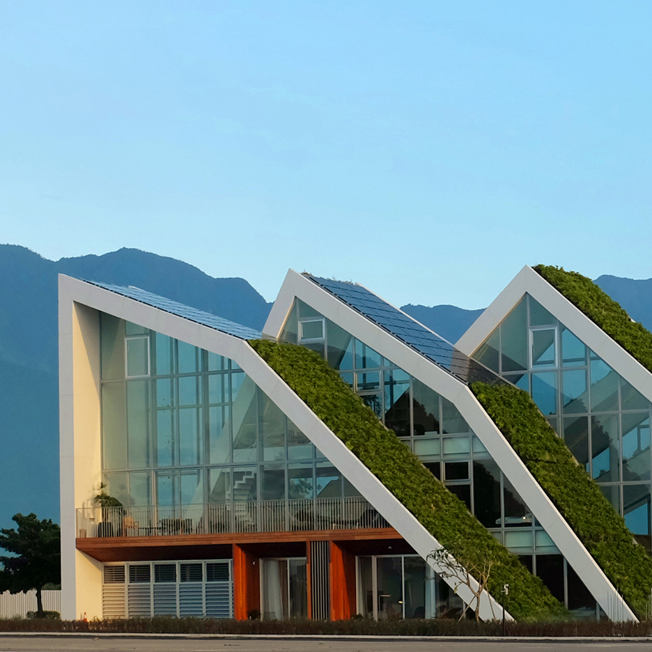 BIG completes first home for mountain-shaped resort in Taiwan